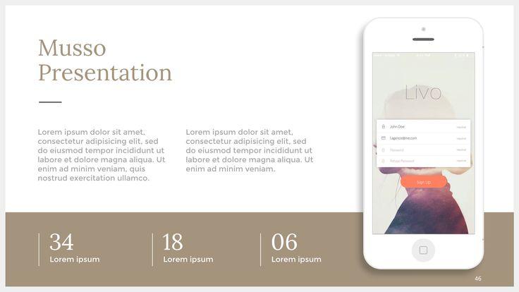 Musso is a Keynote, PPT and Google Slides Presentation