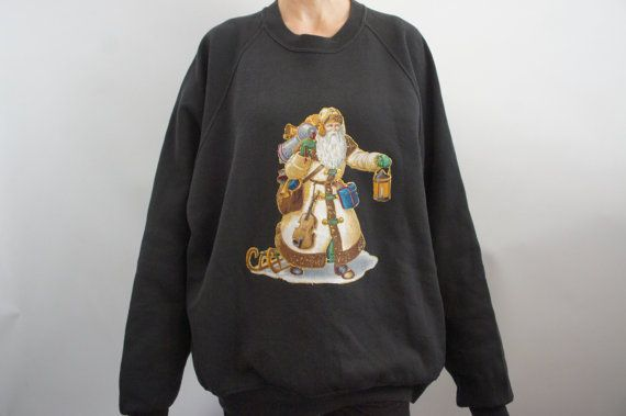 Vintage 90s Ugly Christmas Sweater Tacky by SycamoreVintage