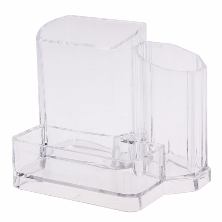 Best Price Storage Boxes Clear Acrylic Makeup Cosmetic Organizer Lipstick Brush Display Rack Holder Tool Case