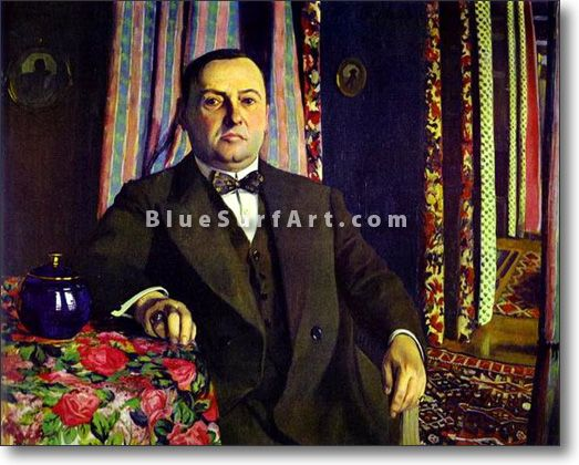 Portrait of Georges Haasen. - £124.99 : Canvas Art, Oil Painting Reproduction, Art Commission, Pop Art, Canvas Painting