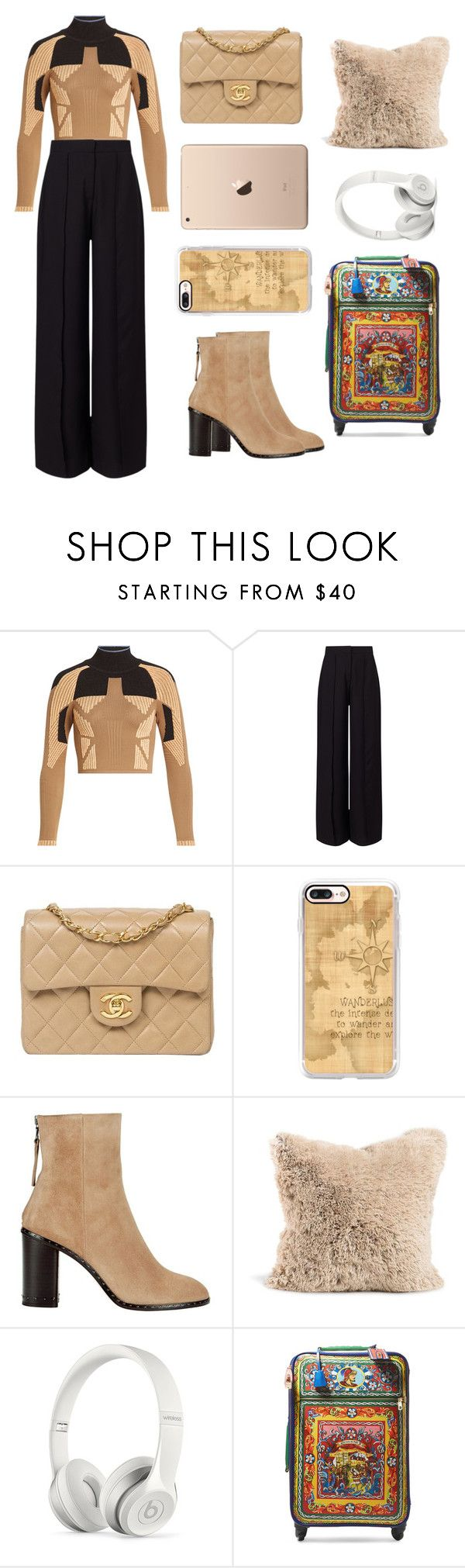 """Sweet Children."" by a-mess-of-a-dreamer ❤ liked on Polyvore featuring adidas Originals, Miss Selfridge, Chanel, Casetify, rag & bone, Beats by Dr. Dre and Dolce&Gabbana"