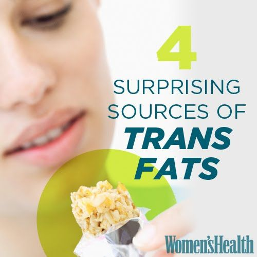 4 Surprising Sources of Trans Fats | Women's Health Magazine