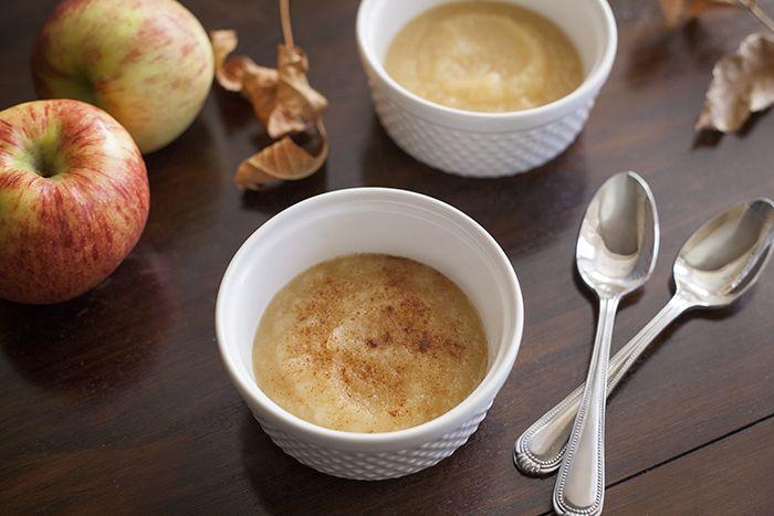 Compote de pommes caramélisées de Louis-François Marcotte - Châtelaine