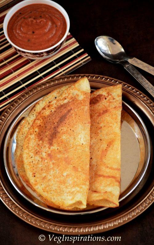 Bajra Dosa~Kambu Dosai~Savory Millet Crepes