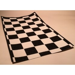 Black Diamond Scooter Grip Tape - Black / White Checkers