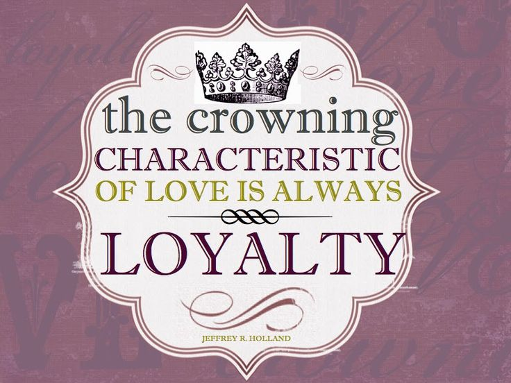 Trust And Loyalty Quotes. QuotesGram