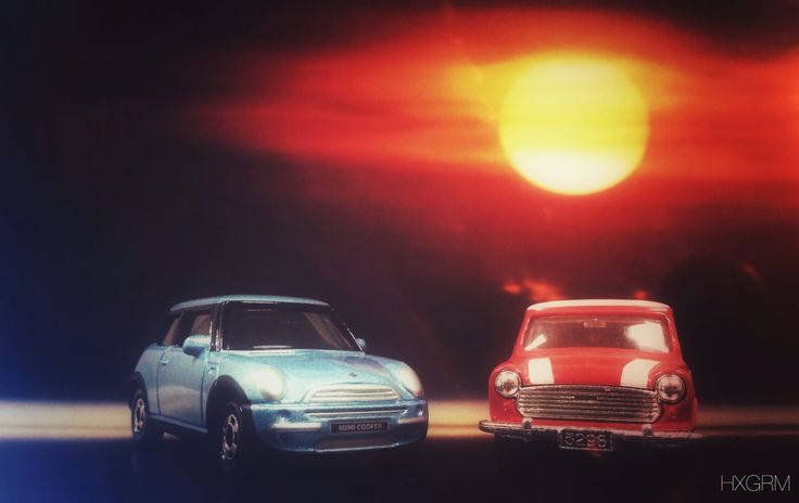 Old & New. HAPPY NEW YEAR 2015! #MiniCooper #Tomica