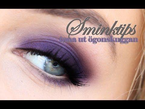 SMINKTIPS – Så här tonar du enkelt ut en ögonskugga | Helen Torsgården – Hiilens sminkblogg