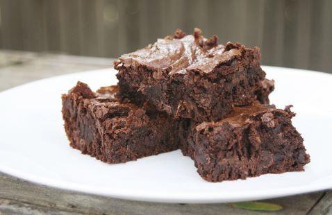 La recette santé de délicieux Brownies aux patates douces, sans farine, sans gluten ni lactose !