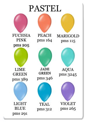 Beantown Balloon Pastel Colors Pastels Colorful