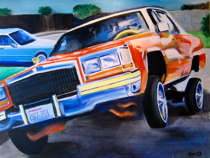 "#ElementEdenArtSearch ""- Kaja Weum, Jump, jump..."" 90cm * 120cm Acrylic on canvas www.kajaweum.com"