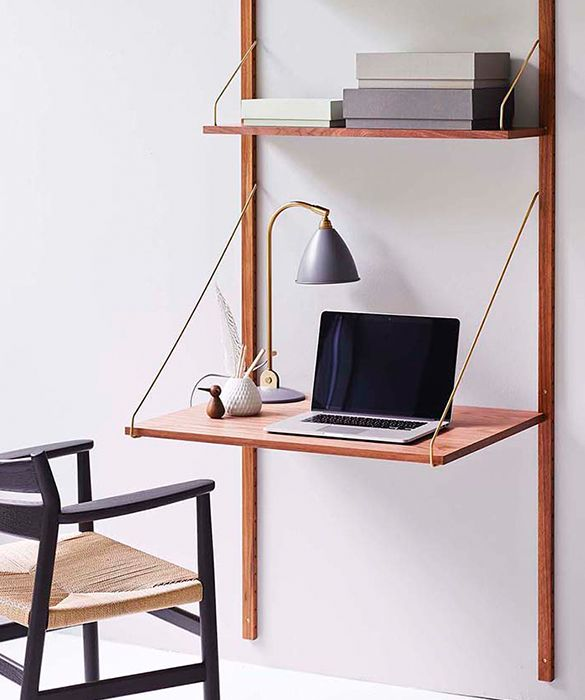 Royal System - desk shelf designed by Poul Cadovius at twentytwentyone