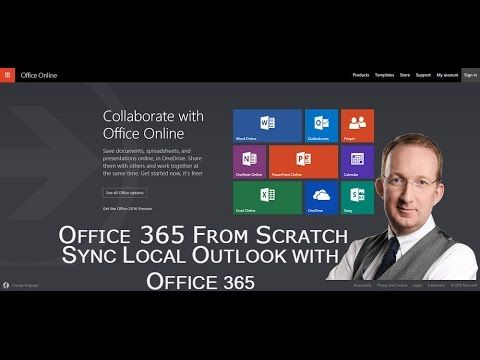 *Use Local Outlook with Office 365* Peter Kalmström shows how to set up client based version of Outlook to work with your Office 365 Exchange license. Refer to http://www.kalmstrom.com/Tips/SharePoint-Online-Course/Set-Up-Outlook-With-Office-365.htm