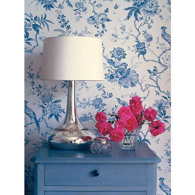 BuySanderson Wallpaper, Pillemont DPEMPI101, China Blue Online at johnlewis.com