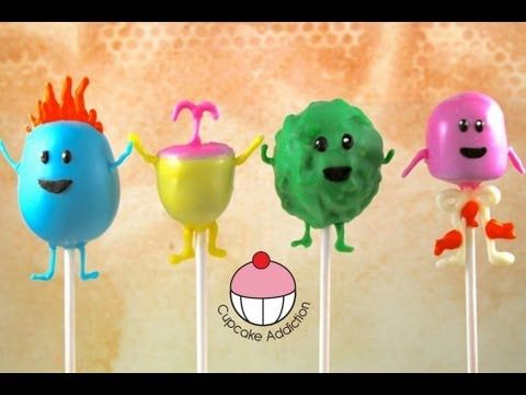 Make Dumb Ways To Die (DWTD) Cake Pops! A Cupcake Addiction How To Collab with Cakes By Choppa. This tutorial and more available for FREE on our YouTube channel MyCupcakeAddiction