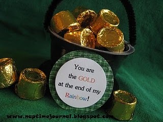 cute idea for a st. patrick's day treat
