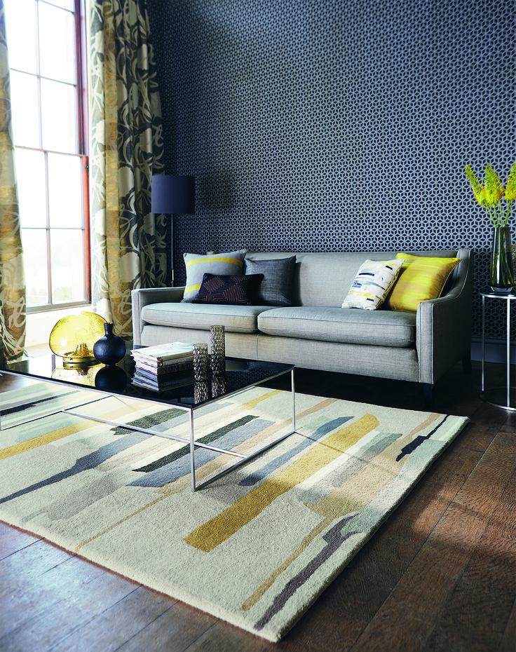 Telas tejidos papel pintado cortinas alfombras - Gancedo papel pintado ...