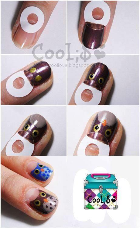 пошагово красивый маникюр в домашних условиях на коротких ногтях фото пошагово