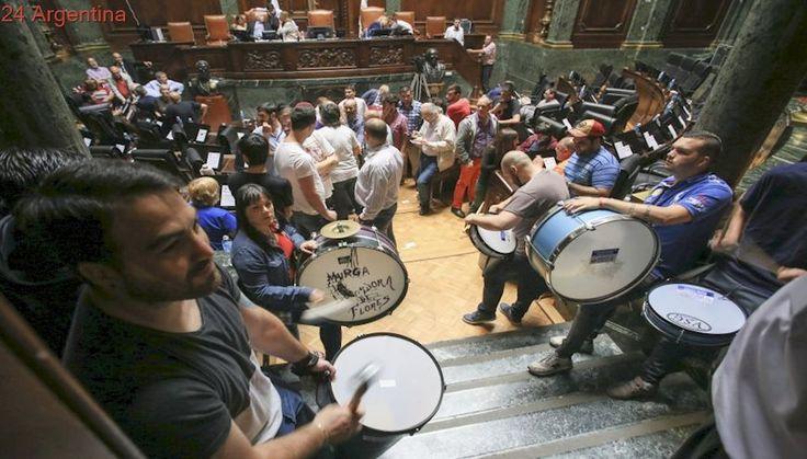 Protesta de estatales ingresó a la Legislatura porteña y obligó a levantar sesión