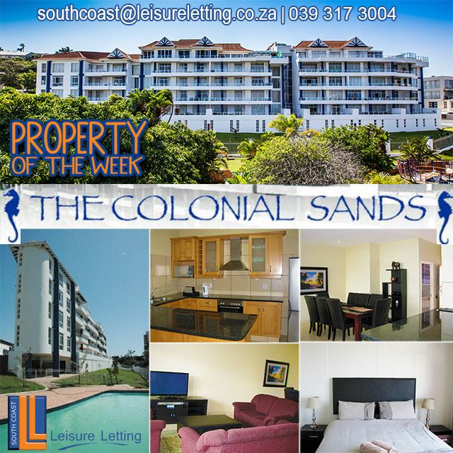 Make Colonial Sands your #homeawayfromhome, on your next #getaway! More info on our website. Link in bio. #KZNsouthcoast #WhereToStay #beachside