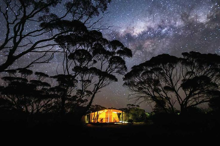 South Australia: The Eyre Peninsla Road trippers guide. Photo of Kangaluna Camp, Gawler Ranges Wilderness Sanctuary