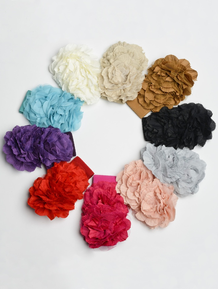 Statement Flower Belt available in 10 colors