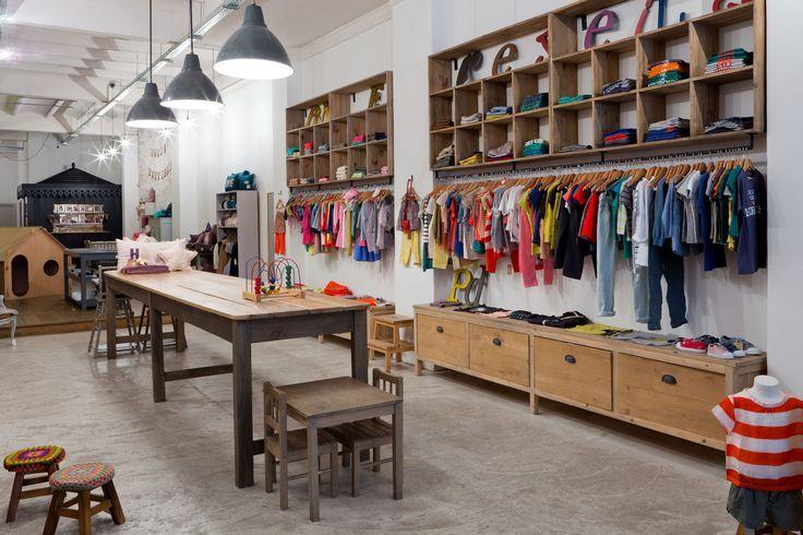 Como decorar una tienda de moda infantil buscar con for Muebles de moda