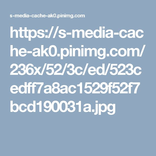 https://s-media-cache-ak0.pinimg.com/236x/52/3c/ed/523cedff7a8ac1529f52f7bcd190031a.jpg