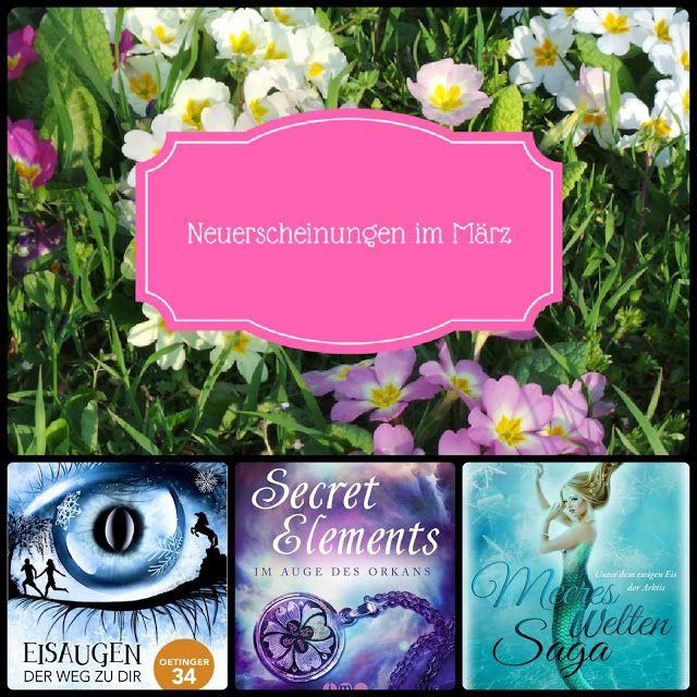 Barbaras Paradies: Neuerscheinungen im März 2017 #1 Der erste Teil der Neuerscheinungen im März ist auf meinem Blog online! Schaut mal vorbei, welche tollen Bücher im März erscheinen! Ich freue mich auf euren Besuch!