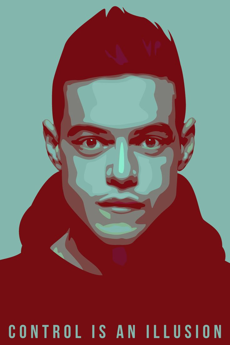 Ever since Mr. Robot's S1 finale, there's been a flood of fanart and i love it