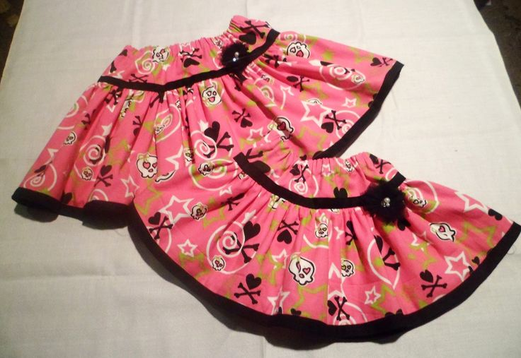 2 BOO! Design Twirly Skirts