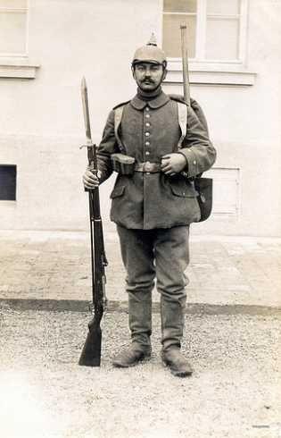 I wojna światowa, mundur armii pruskiej | opinie forum dobroni.pl