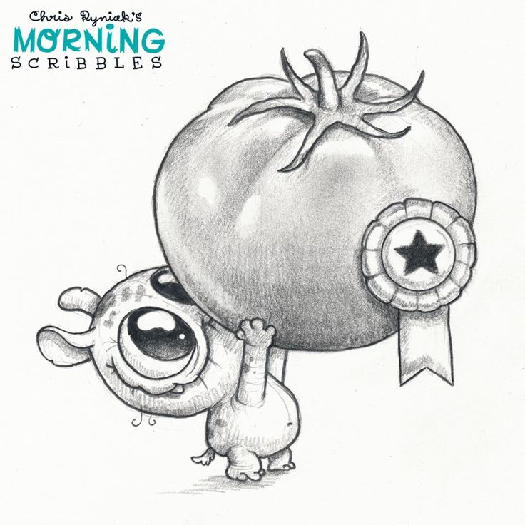 Character Drawings Portraits And Monsters: Chris Ryniak - Morning Scribbles