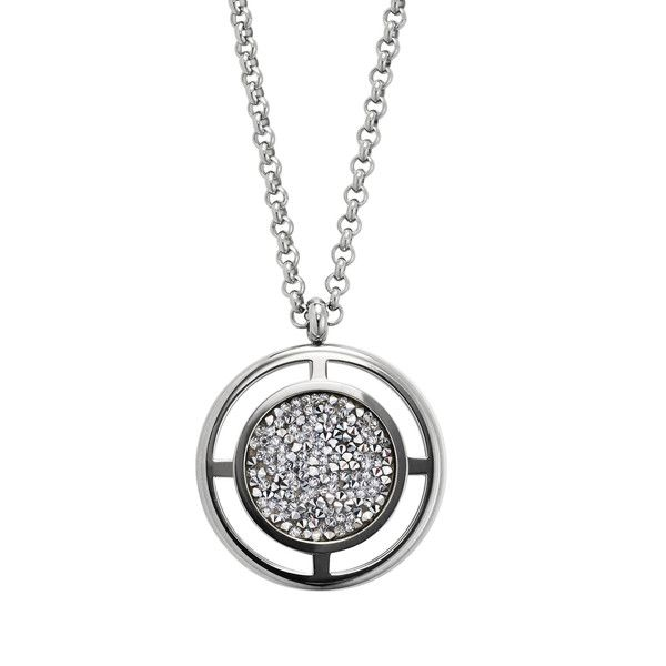 Dyrberg/Kern Charida Silver Necklace