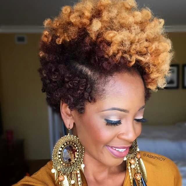 AskpRoy my natural hair motivation. Love the color.