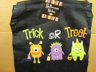 14988 Trick or Treat Monster Mash Ritz Print Apron @ niftywarehouse.com #NiftyWarehouse #Halloween #Scary #Fun #Ideas