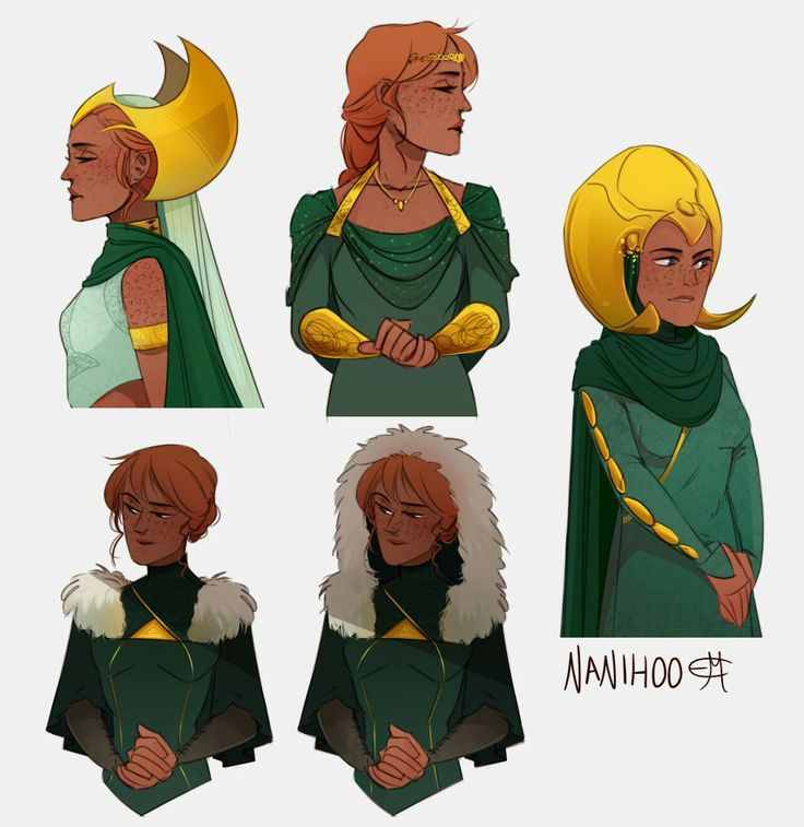 sygin (loki's wife in the mitology and briefly in the comics too, util writers forgot about her)