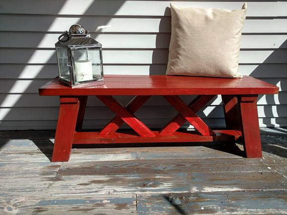 Red Entryway Table