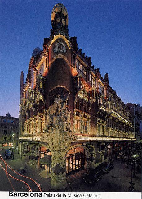 Palau de la Musica Catalana, Fachada Principal, Barcelona