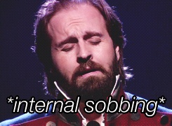 Everyone when they see the Les Mis movie (I just can't handle it)