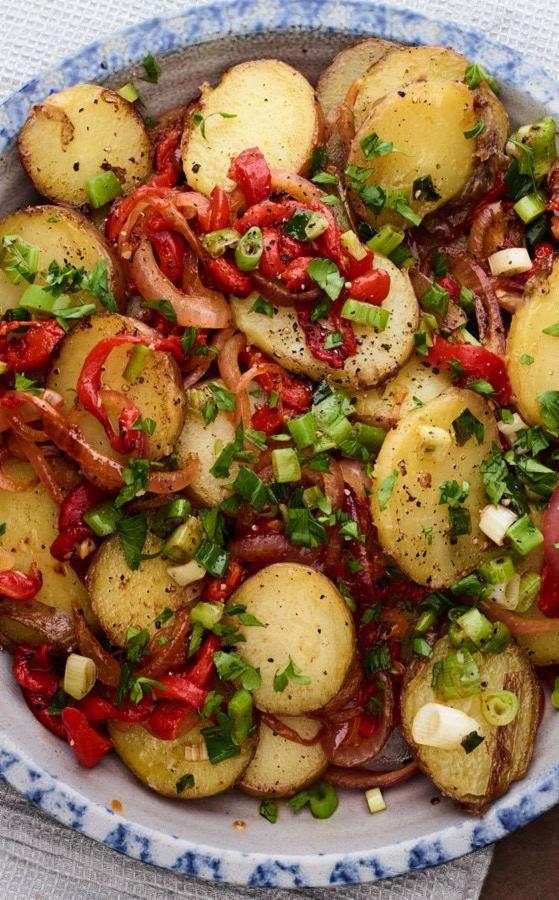 One pot crispy potatoes