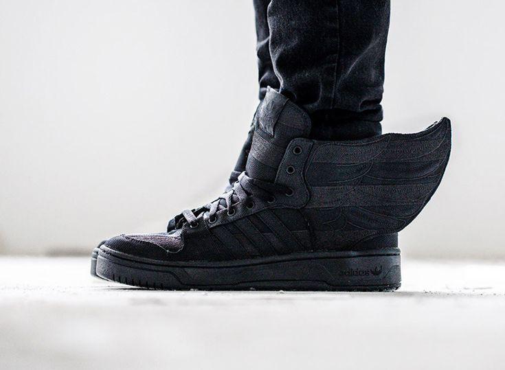 "ASAP Rocky x Jeremy Scott adidas Wings 2.0 ""Black Flag"" - SneakerNews.com"