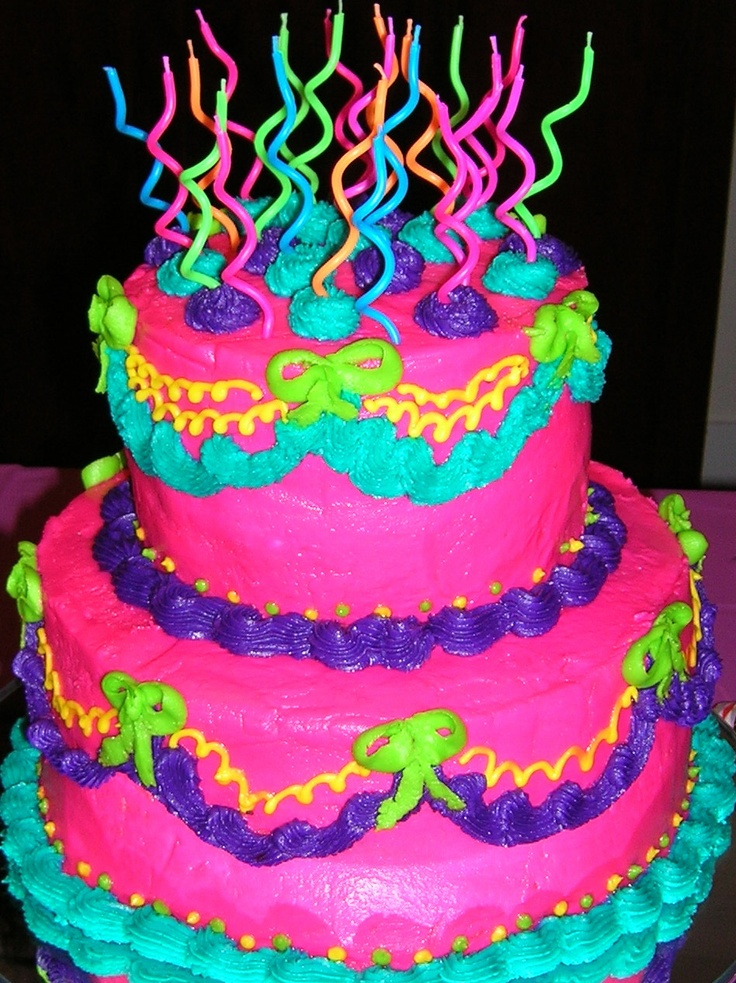 My favorite birthday cake! Thanks, Mom!