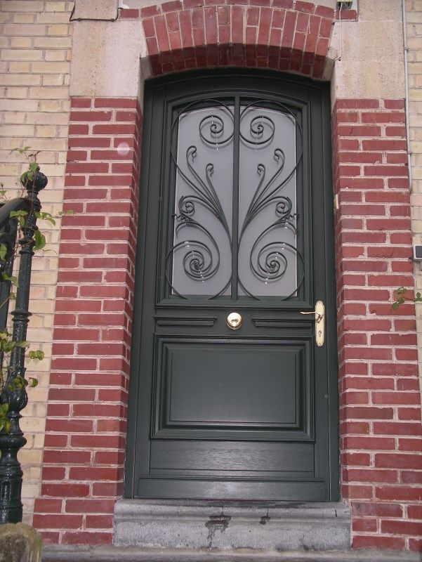 21 best porte entrée images on Pinterest Driveway gate, Doors and