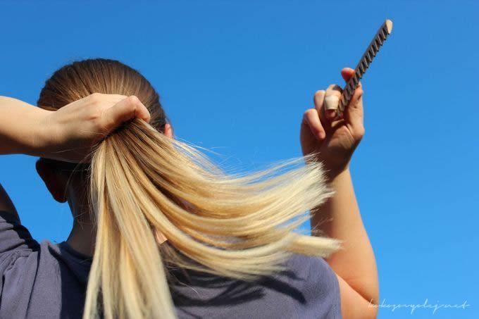 Zosvetľujúca maska na vlasy. Prírodné zosvetlenie vlasov. Pomocou dvoch zložiek, rozjasníte a presvetlíte svoje vlasy. Ako dosiahnuť ombré efekt na vlasoch.