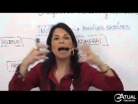 Português para Concursos, Classes Gramaticais, Professora Rafaela Motta