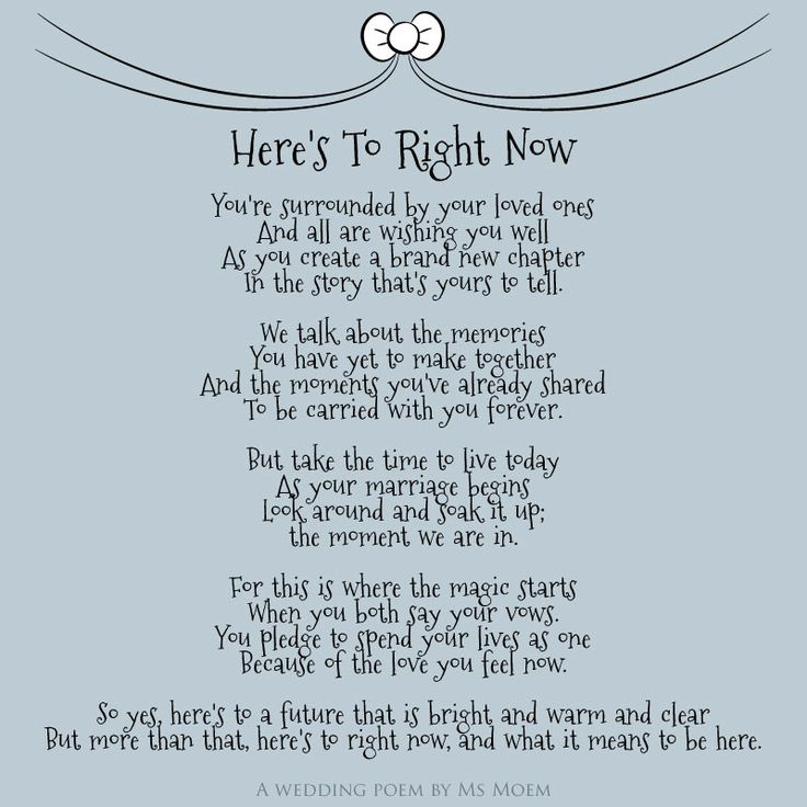 heres to right now wedding poem by english poet ms moem msmoem