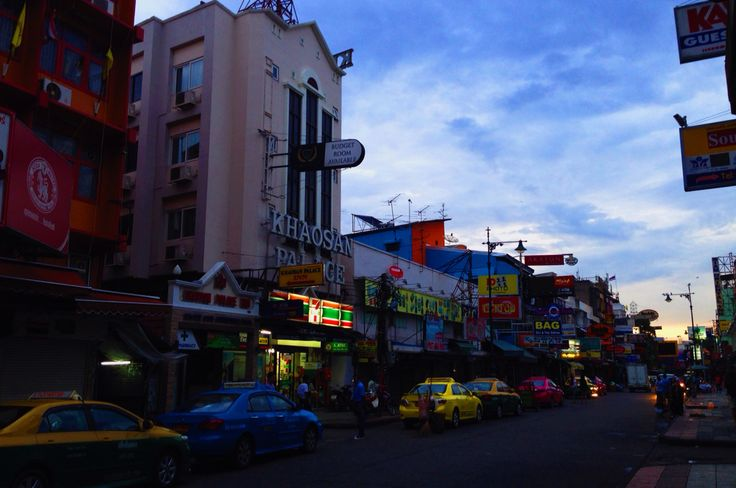 Morning, khaosan road