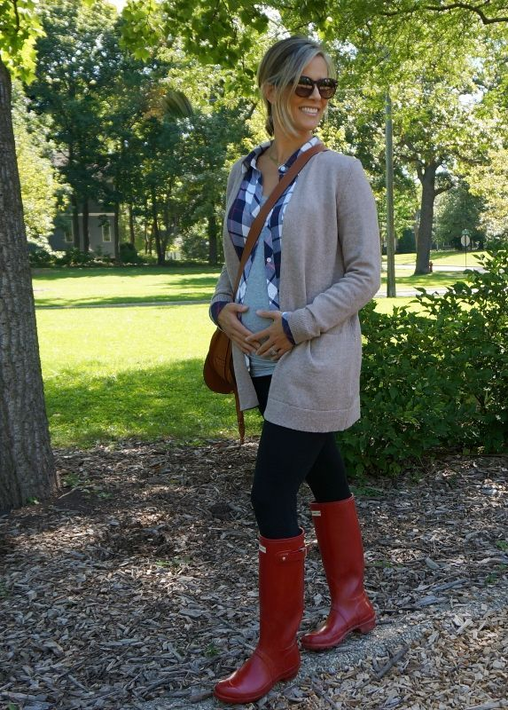 Classic Fall Layers - my kind of sweet // pregnancy style // fall fashion