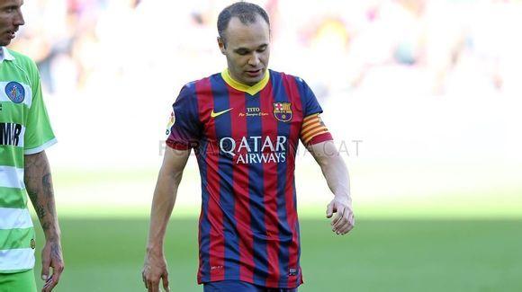 camiseta Barcelona @ http://www.camisetadefutbolbaratases.com/la-liga-camiseta-barcelona-c-50_53.html